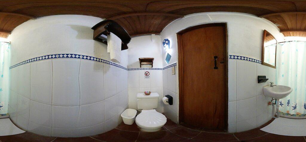 bath Posada Cayo Luna en Los Roques